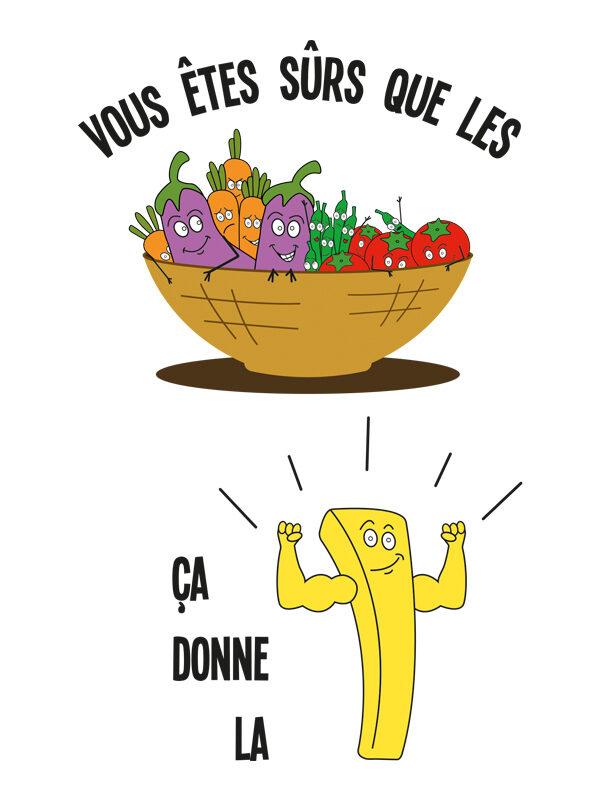 Bavoir La frite