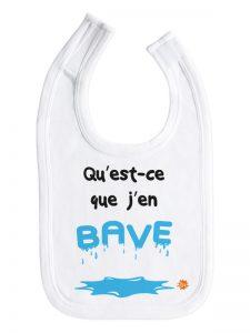 Bavoir J'en bave