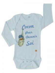 Body bleu Cocon