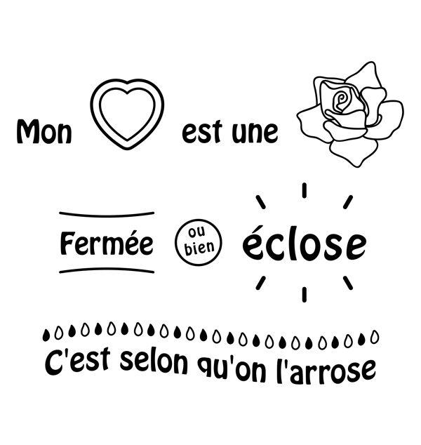 Graphisme Mon coeur